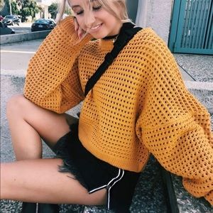 LF Stores Yellow Sweater